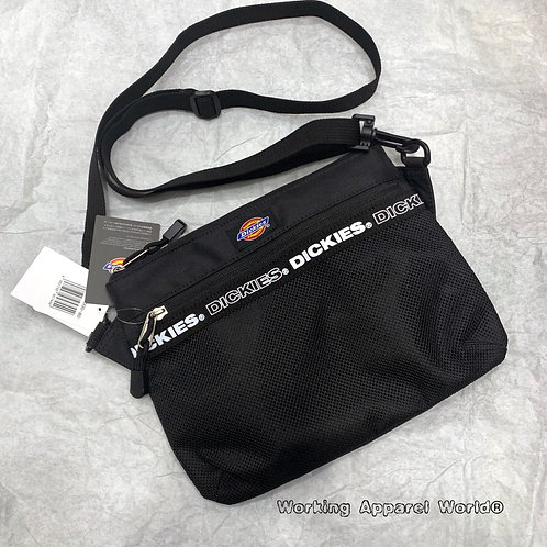 日版 Dickies Tape Logo Shoulder Bag - Black