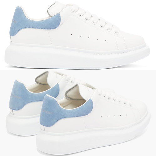 ●預訂貨品● Alexander McQueen Leather Suede Oversized Sneaker