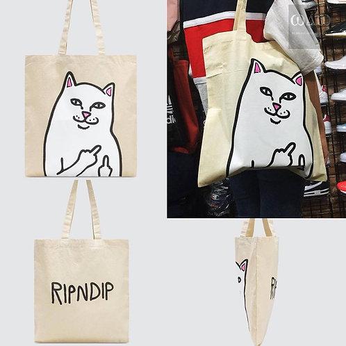 Ripndip Cat Tote Bag