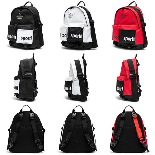 ●預訂貨品● Le coq sportif 4-Way Double Pocket Backpack
