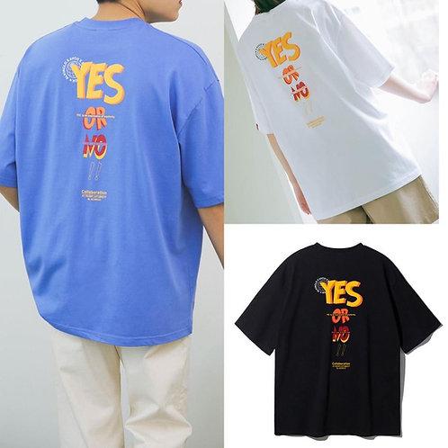 ●預訂貨品● 韓國品牌 Alvinclo 男女裝 Unisex Yes or No Oversized S/S Tee