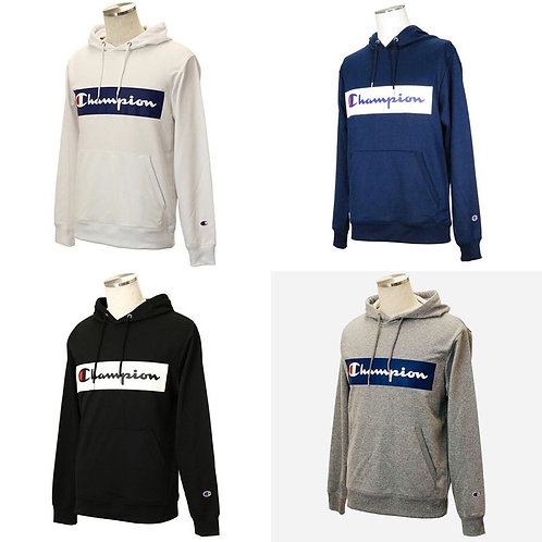 ●預訂貨品● 日版 Champion Box Logo Training Hoodie