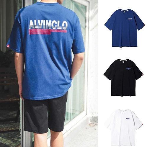 ●預訂貨品● 韓國品牌 Alvinclo 男女裝 Unisex Big Back Logo Oversized S/S Tee