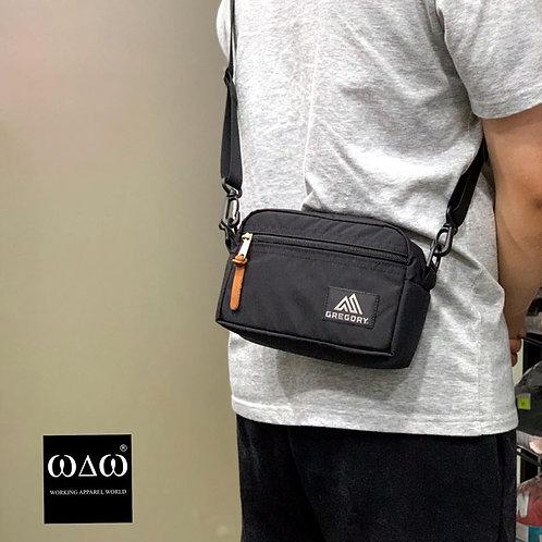 Gregory Basic Logo Pouch S Shoulder Bag - Black