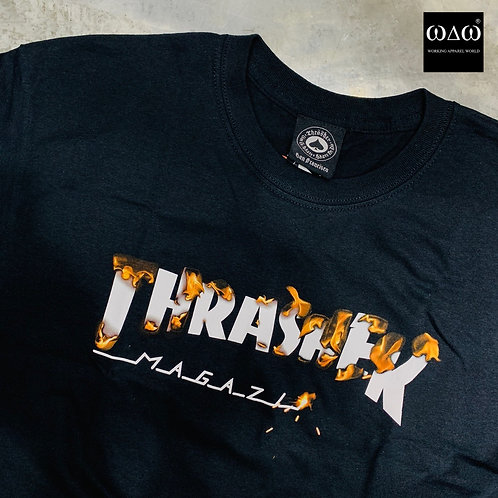 Thrasher Burning S/S Tee