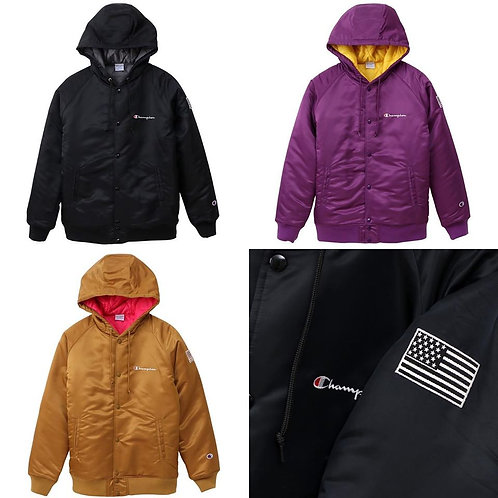 ●預訂貨品● 日版 Champion Thermolite Batting Quilt Jacket