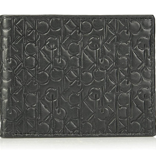 ●預訂貨品● Calvin Klein Logo Leather Bifold Wallet