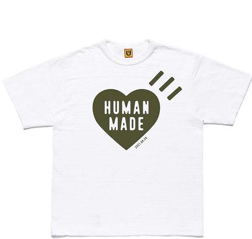 ●預訂貨品● Human Made #21424 S/S Tee - White