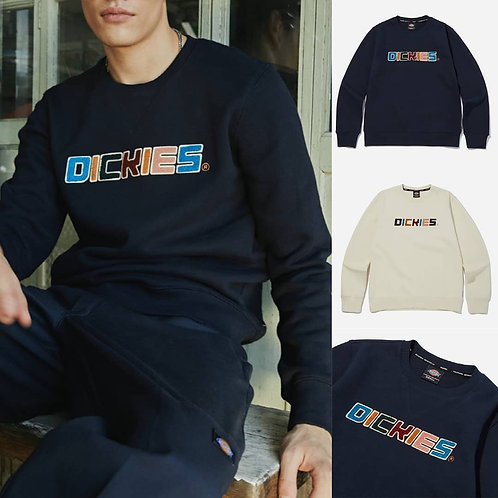 ●預訂貨品● Dickies Rainbow Big Logo Sweatshirt