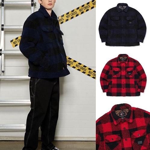 ●預訂貨品● Dickies Logo Check Shirt Jacket