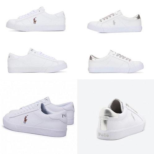 ●預訂貨品● Polo Ralph Lauren Logo Leather Sneaker