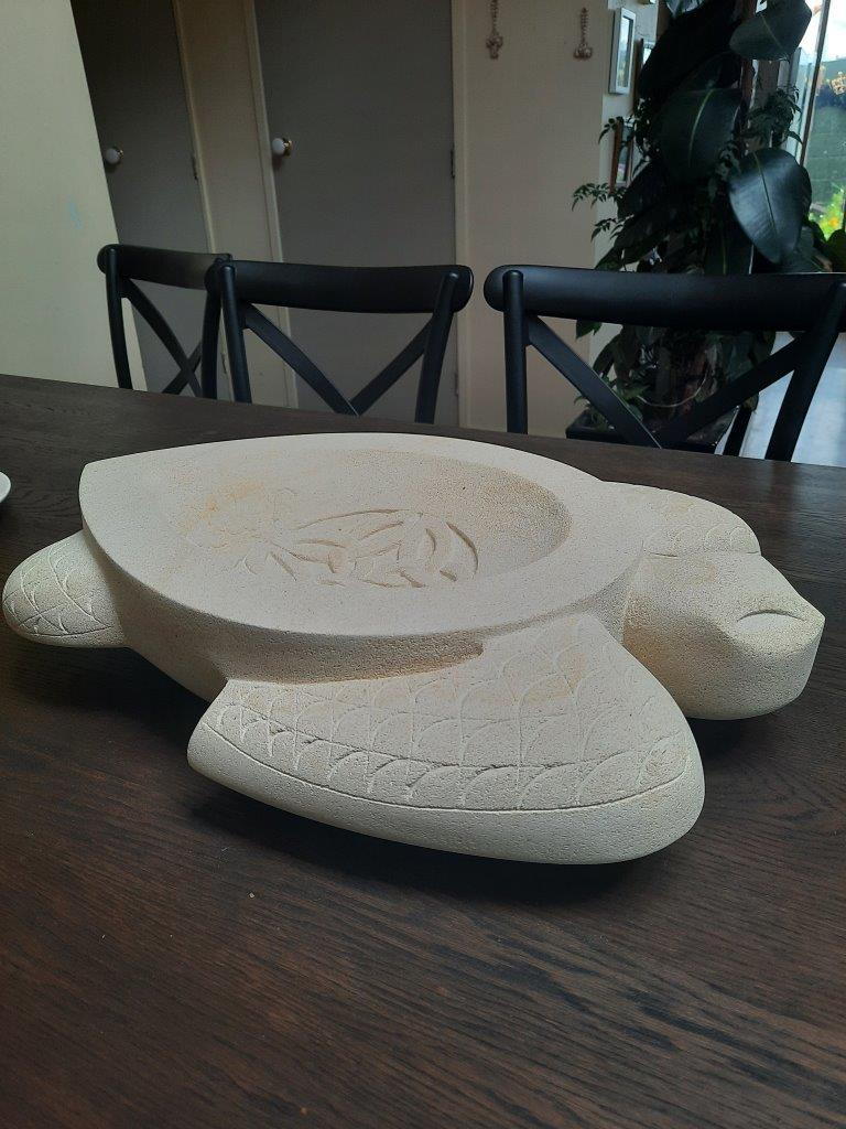 Turtle Tanoa Bowl - Keno Sculpture