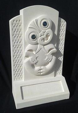 Tiki Memorial/Headstone