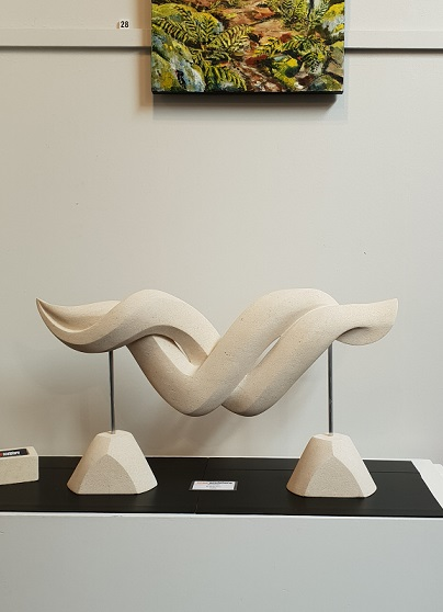 Entwined — sculpture
