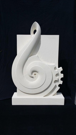 Music & Mana - Headstone & memorial for Keno Sculpture