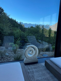 Keno Sculpture - Spiral Koru