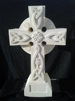 Oamaru Cross Headstone