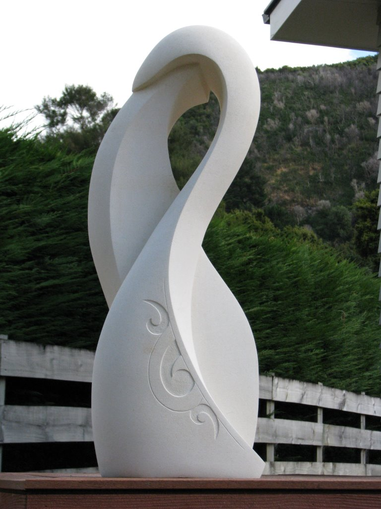 Birds of a Feather sculpture
