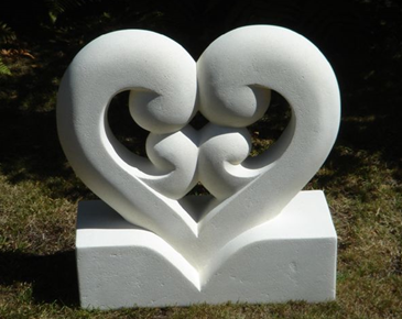 Kathryn's family sculpture