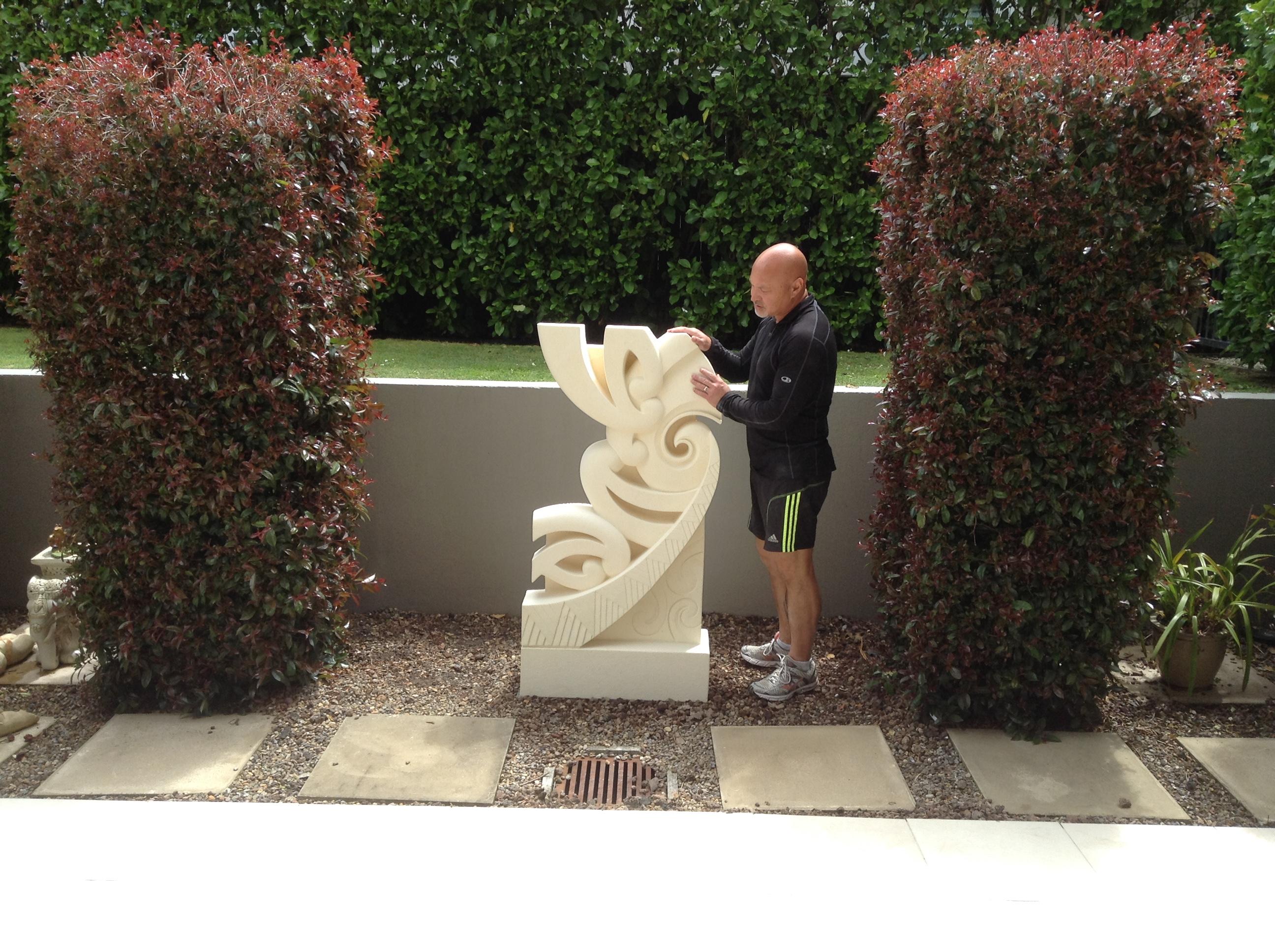 Nga hau e wha - Keno Sculpture