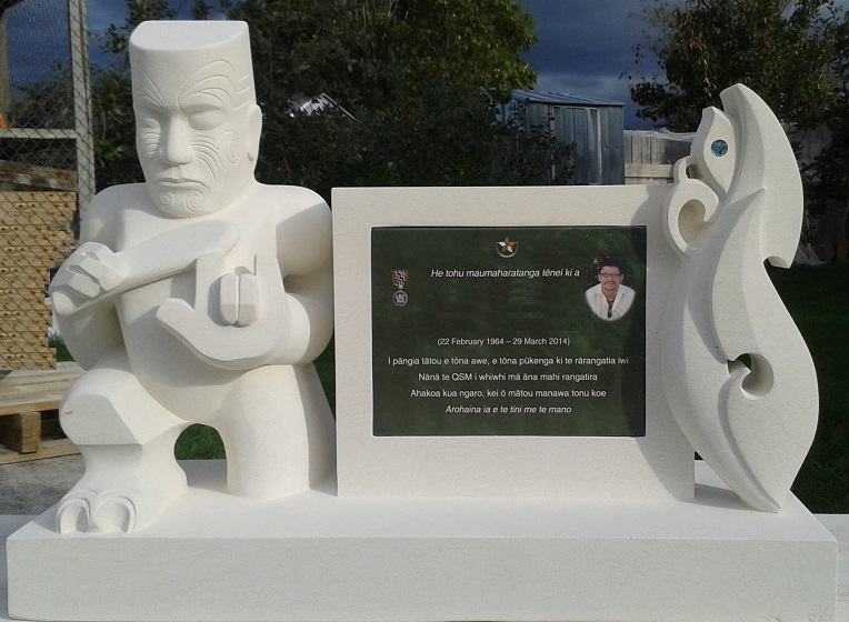 Tekoteko & Manaia Memorial/Headstone