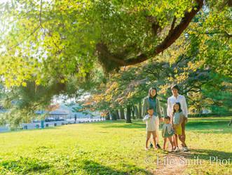家族写真撮影  京都御所