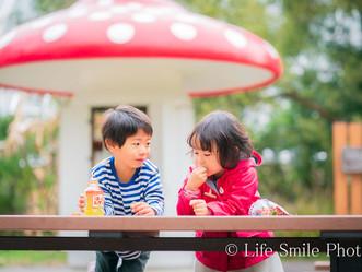 家族撮影    賀茂川・公園