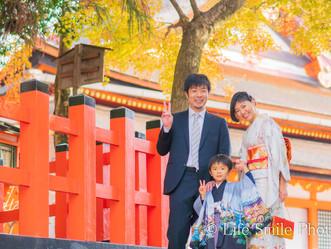 七五三撮影   八坂神社
