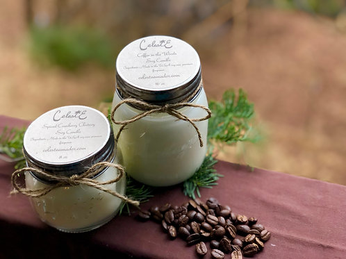Coffee in the Woods Soy Candle