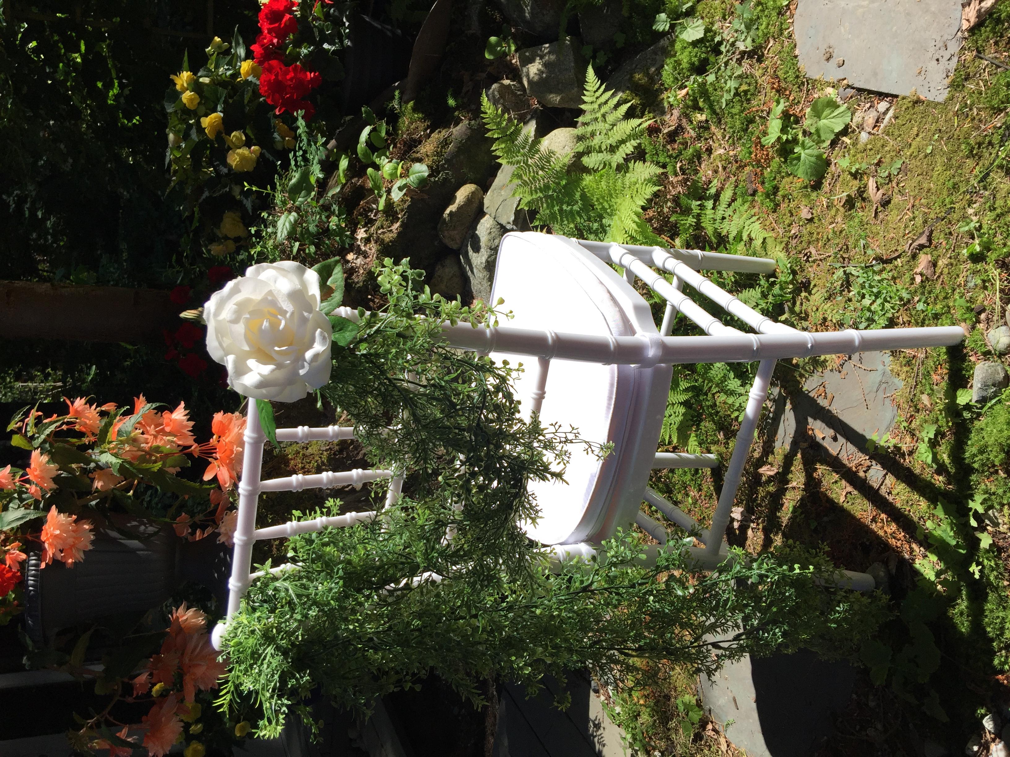 N. Vancouver Wedding Chair Rentals 8