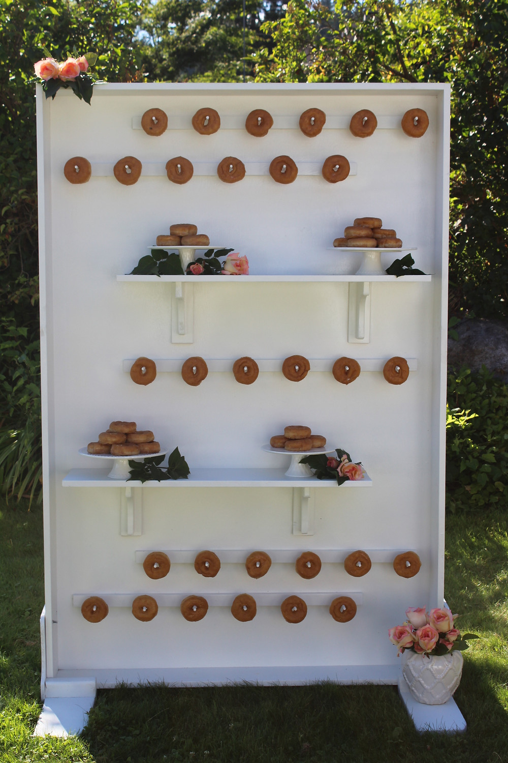 Donut Wall Rental - Over the Moon Wedding & Event Rentals