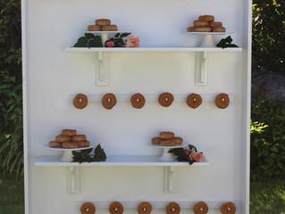 Donut Display Wall: A sweet treat