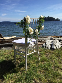 Pender Harbour Wedding Chair Rentals