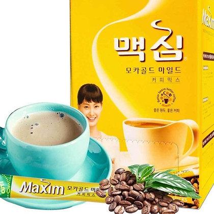 韓國 國民咖啡MAXIM黃金摩卡咖啡-1盒100條
