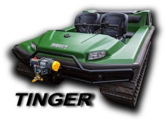 Вездеходы Tinger с двигателями Honda