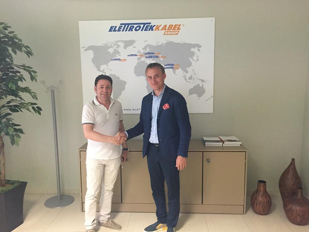 ООО»Первая Моторная Компания» стала стратегическим партнером Elettrotek Kabel на территории РФ.