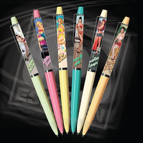 レトロガール コレクション(ヌードペン) ヌードボールペン
