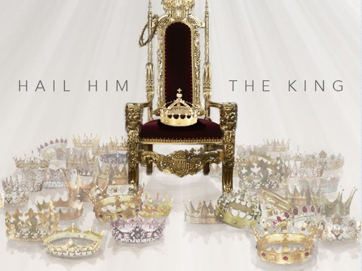 """My New Single, """"Hail Him the King"""" is OUT NOW!"""