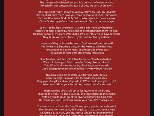 A Christmas Poem: The Gift Nobody Wanted