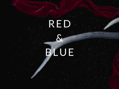Poem: Red and  Blue