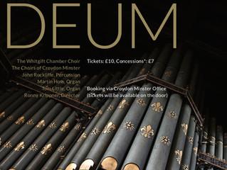 Minster Organ Inaugural Concert