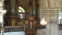 Organ CD recording in Bohemia