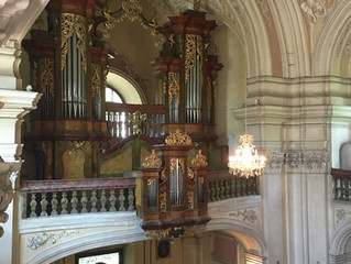 Organ CD recording in Bohemia