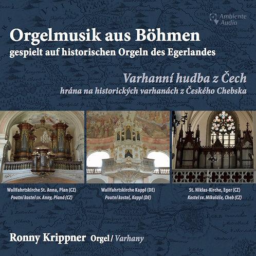 """CD """"Organ Music from Bohemia"""" - """"Orgelmusik aus Böhmen"""""""