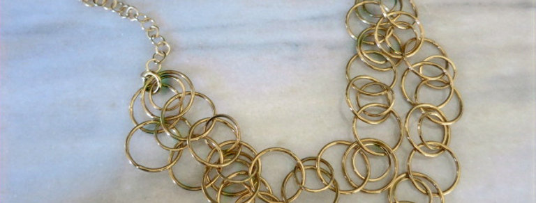 Circle Statment Necklace