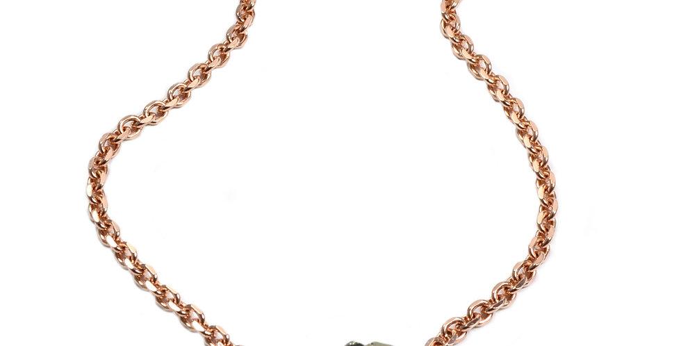 Rock & Rose Necklace
