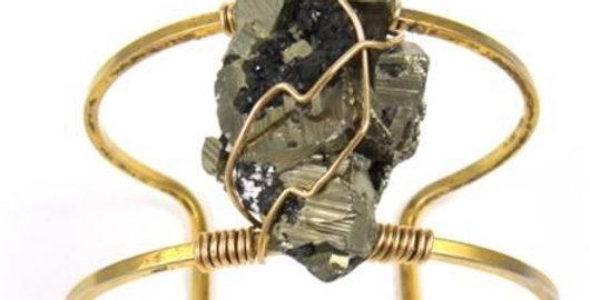 Pyrite Cuff