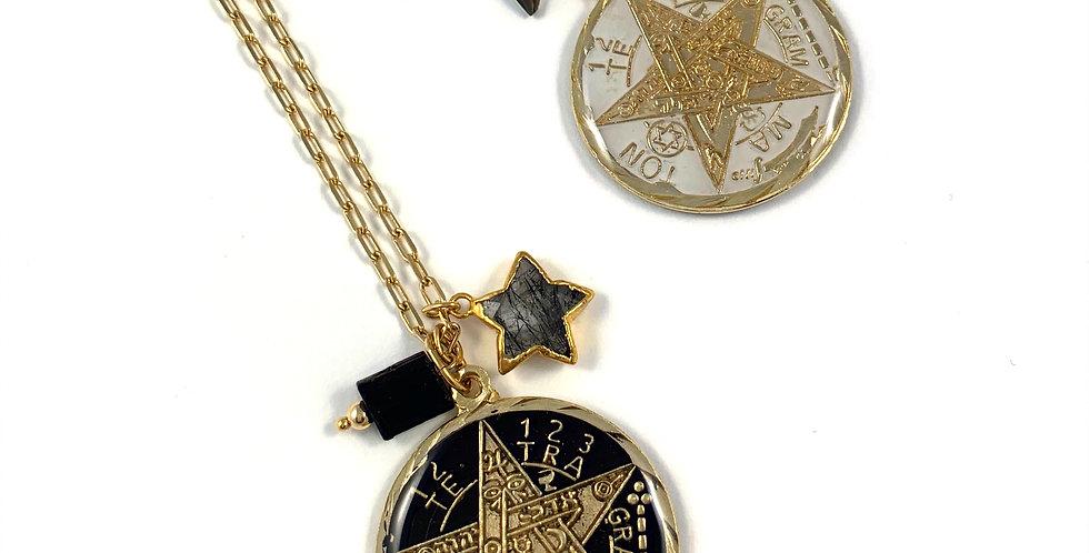 Tetragrammaton  - Cosmic Conection Necklace