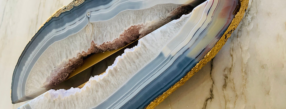 Agate Geode Handle Pulls