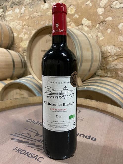6 btl Château La Brande Fronsac Tradition 2016